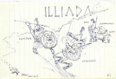 LA ILIADA (VERSIÓN LIBRE...)