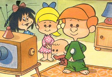 Nostalgias televisivas: LA FAMILIA TELERÍN