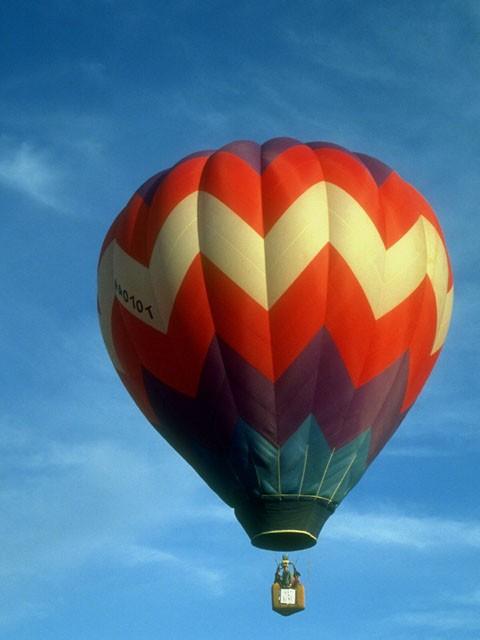Será divertido volar en globo