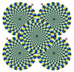Efectos ópticos: ¡SE MUEVEN! ¡PUES NO SE MUEVEN!