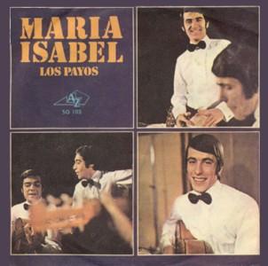 """Nostalgias musicales: """"MARÍA ISABEL"""""""