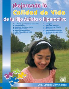 """""""Mejorando la Calidad de Vida de Tu Hijo Autista o Hipectactivo"""