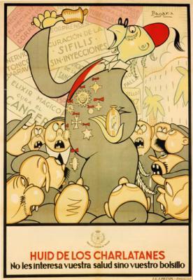 Luis Bagaría, el arte y la  política
