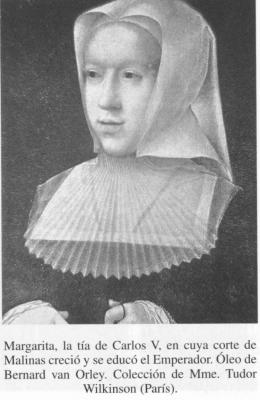 Mujeres interesantes. Las mujeres de Carlos V: MARGARITA DE SABOYA